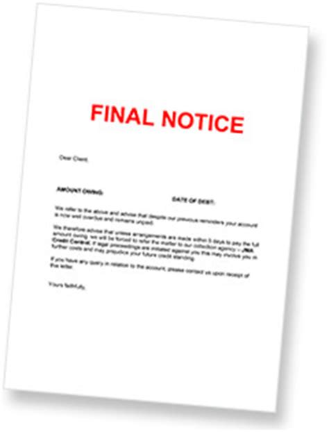 debt collection letter  zealand debt collection