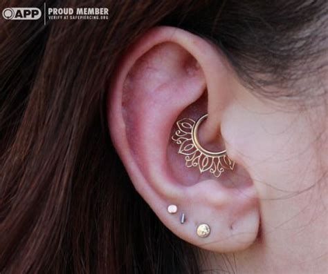 25+ best ideas about Daith piercing on Pinterest