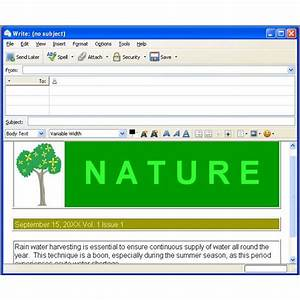 Html codes for e mail on thunderbird overview of html e for Thunderbird email templates