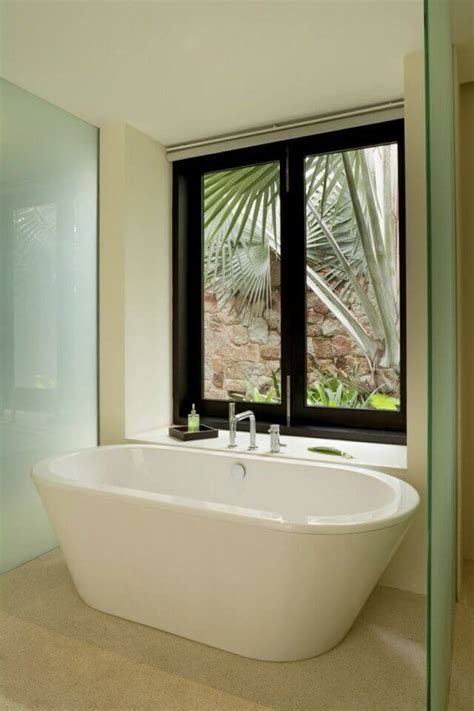 tile ideas for bathrooms 40 master bathroom window ideas
