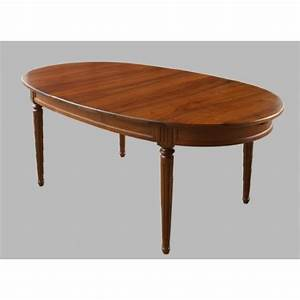 Table En Noyer : table ovale de louis xvi en noyer meubles de normandie ~ Teatrodelosmanantiales.com Idées de Décoration