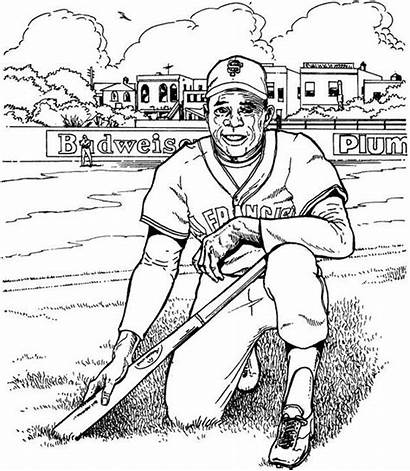 Coloring Pages Baseball Giants Francisco San Player