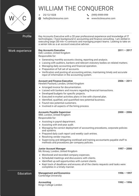 National Account Manager Resume Template by Account Manager Resume Sle Ipasphoto