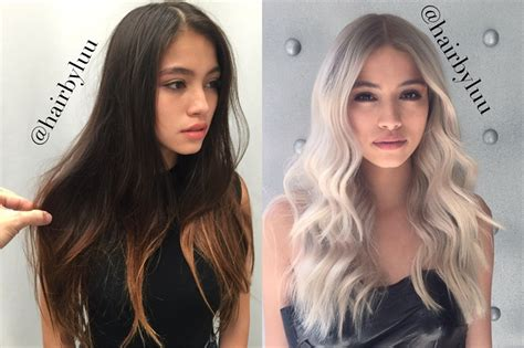 Four Steps To Bright Ash Blonde