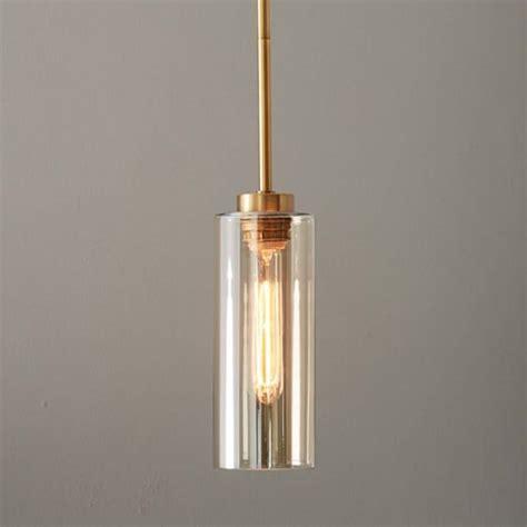 glass cylinder pendant west elm