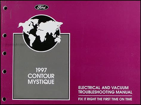 auto manual repair 1997 ford contour electronic toll collection 1997 ford contour mercury mystique electrical troubleshooting manual