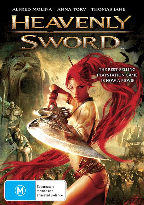 Win A Copy Of The Heavenly Sword Movie On Dvd Or Blu Ray