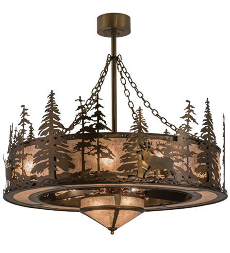 meyda tiffany ceiling fans meyda tiffany 163305 elk at dusk antique copper silver