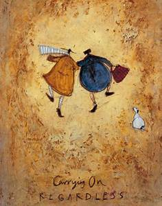 Carrying On Regardless Art Print By Sam Toft At King McGaw