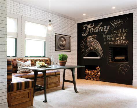elegant cast iron dutch oven  dining room rustic