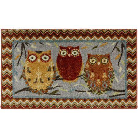 kitchen rugs walmart hoot owls kitchen rug walmart