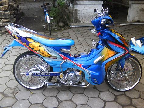 Modif Motor Jupiter Z by 15 Foto Modifikasi Motor Yamaha Jupiter Z
