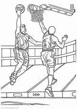 Basketball Coloring Colorare Disegni Basket Printable Pallacanestro Disegno Basketbal Sheets Colouring Sheet Dessin Boys Ausmalbilder Immagini Stampare Coloriage Healthy Snacks sketch template