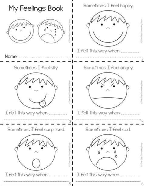 feelings complete bundle data entry worksheets