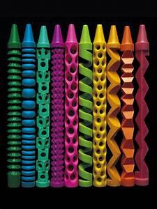 Pete Goldlust U0026 39 S Sculptural Crayons