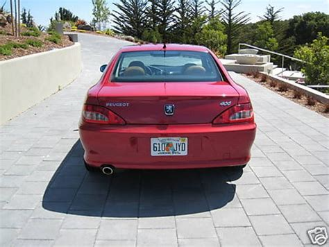 peugeot usa cars coupé peugeot 406 florida usa forum french cars in america