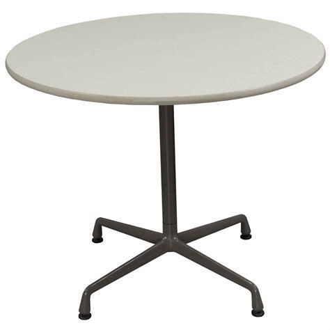 herman miller folding table herman miller used 36 inch round laminate table creme