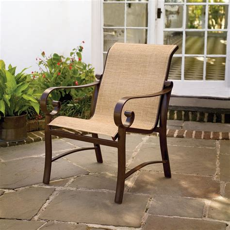 Sling Patio Furniture by How To Paint Outdoor Sling Chairs I Patio Porch And