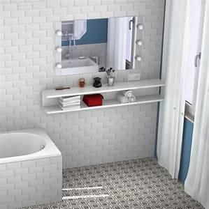 Coiffeuse Salle De Bain : 5 id es pour une salle de bains d co et pas cher styles ~ Teatrodelosmanantiales.com Idées de Décoration
