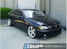 GMP Gallery BMW 750IL with 22 Inch Hamann PG3 Wheels and
