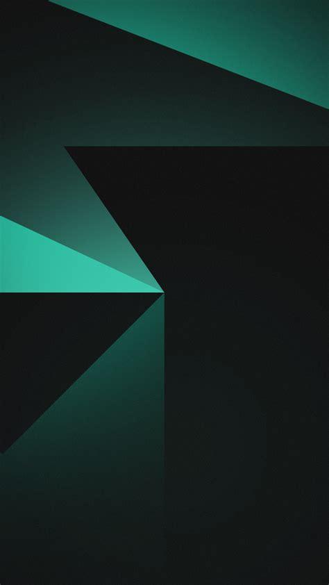 wallpaper geometric shapes dark background black green