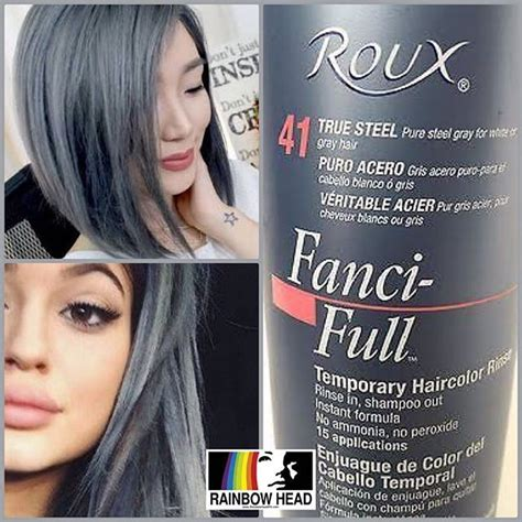 fanci temporary hair color mulpix roux fanci rinse true steel temporary hair