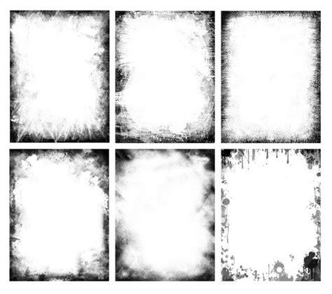 grunge frames psd set  psd files