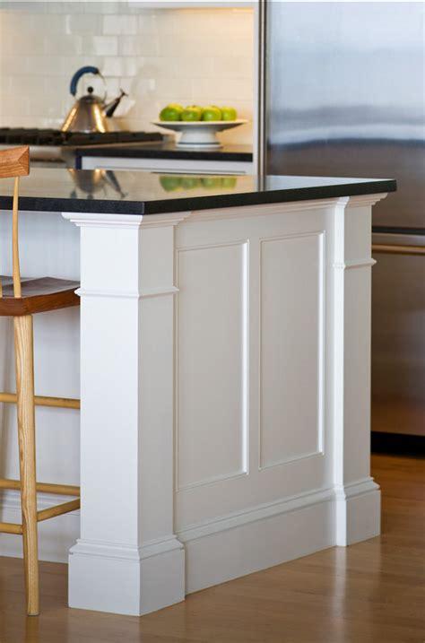 kitchen island molding shingle style home bunch interior design ideas