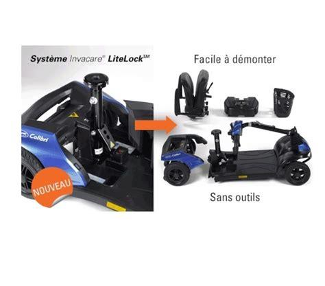 Achat scooter electrique Invacare Colibri 4 roues