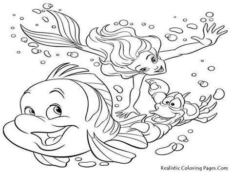 Sea Life Coloring Pages For Kids