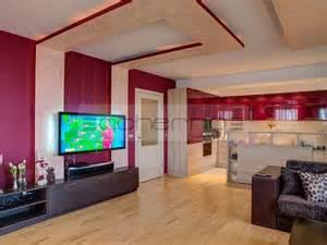 acherno innendesign wohnung die farben des stiers - Innenausstattung Wohnzimmer