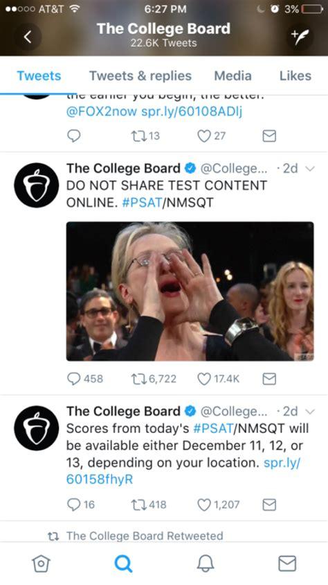 Psat Memes 2018 - annual psat memes the highlander