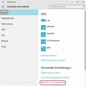 Neues Netzwerk Einrichten : einrichten anmelden am eduroam wlan unter windows 10 rechenzentrum universit t osnabr ck ~ Yasmunasinghe.com Haus und Dekorationen