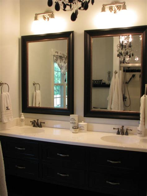 Mirrors In Bathrooms by 25 Best Ideas About Bathroom Mirrors On