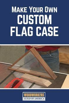 cutting precise angles   custom flag case   projects   flag display case