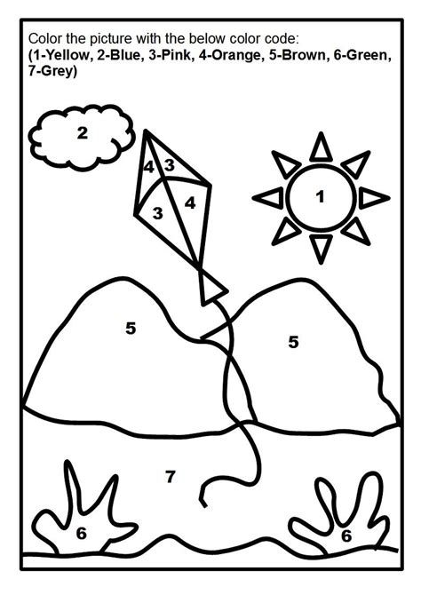scenery coloring page printable  kids