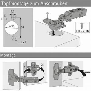 Hettich Topfscharnier 35mm : topfscharnier sensys 8631i 95 dicke t ren selbst ~ Orissabook.com Haus und Dekorationen