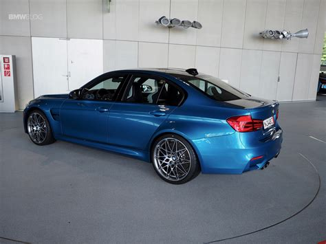 Bmw M3 In Long Beach Blue Delivered At Bmw Welt
