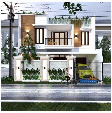 Desain Rumah Minimalis 2 Lantai Dengan Rooftop - Content