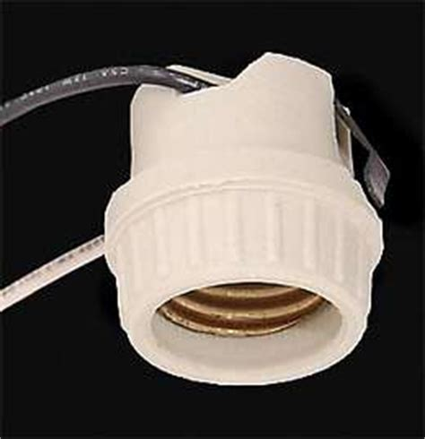 Porcelain L Socket With Leads by Wholesale L Parts B P L Supply