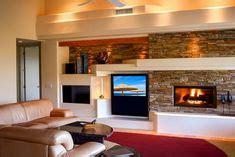 custom drywall entertainment centers 3d design rendering