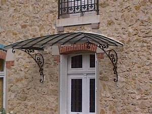 Marquise De Porte Ancienne : cr ation de marquise perron poteau d coratif ~ Dailycaller-alerts.com Idées de Décoration