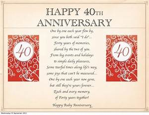 40th Anniversary Wishes - Wishes, Greetings, Pictures ...