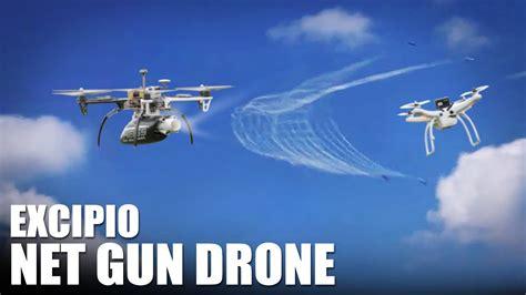 net gun drone excipio flite test youtube