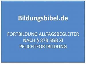 87b Sgb Xi Abrechnung : fortbildung alltagsbegleiter nach 87b sgb xi pflichtfortbildung ~ Themetempest.com Abrechnung