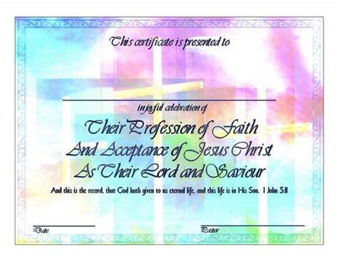 crosses salvation certificate printable digital file