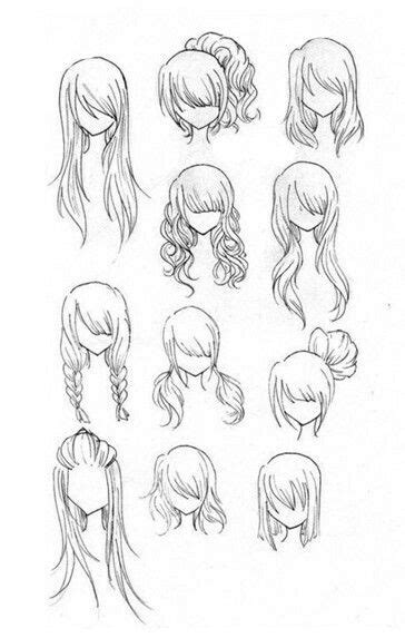 hairstyles girl woman   draw mangaanime