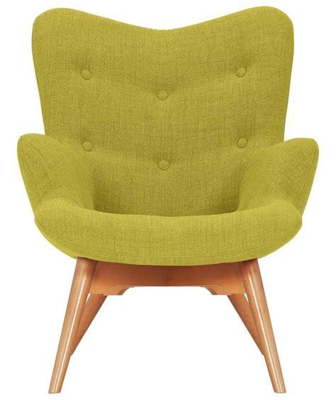 buy hygena fabric chair yellow at argos co uk
