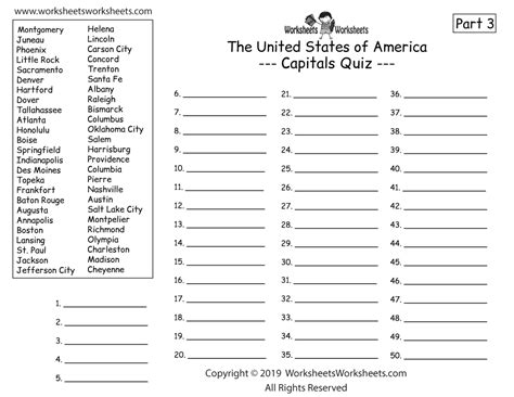 homeschool geography worksheet  printable