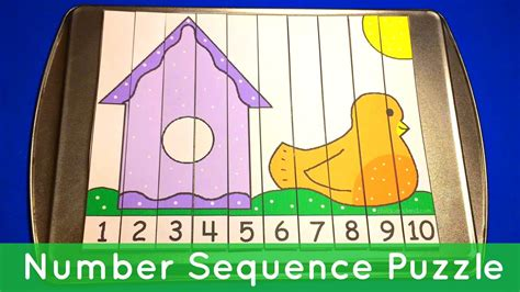 birdhouse number sequence puzzles preschool math 504 | maxresdefault